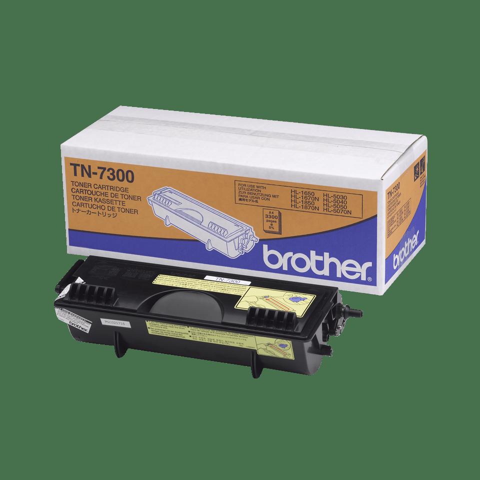 Originele Brother TN-7300 zwarte tonercartridge met hoge capaciteit