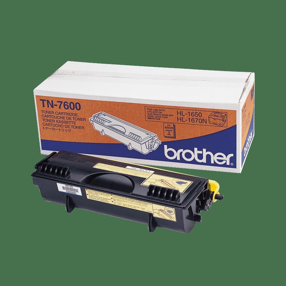 Originele Brother TN-7600 zwarte tonercartridge met hoge capaciteit