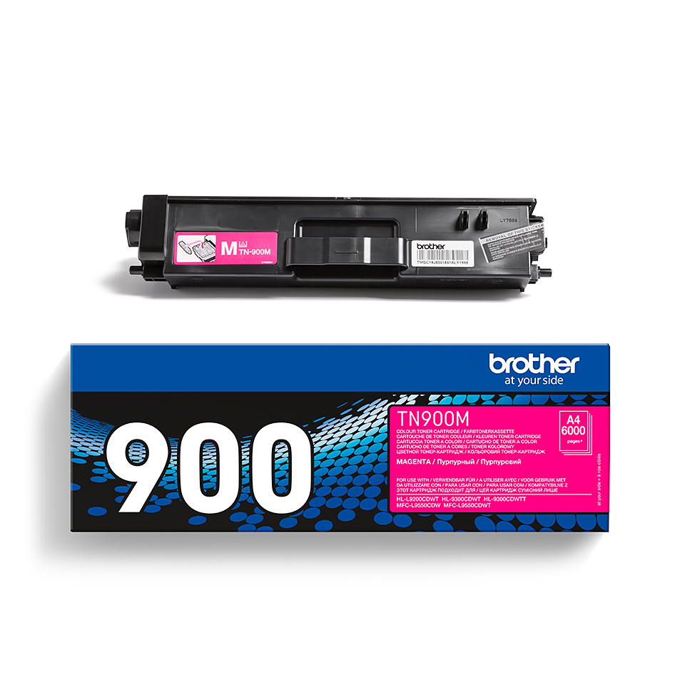 Originele Brother TN-900M magenta tonercartridge