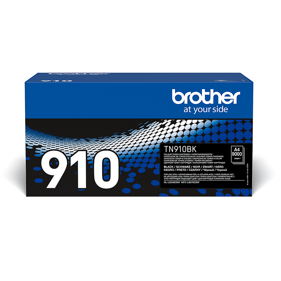 Originele Brother TN-910BK zwarte tonercartridge 2