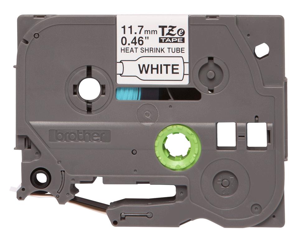 Originele Brother HSe-231 krimpkous tape cassette – zwart op wit, breedte 11,7 mm
