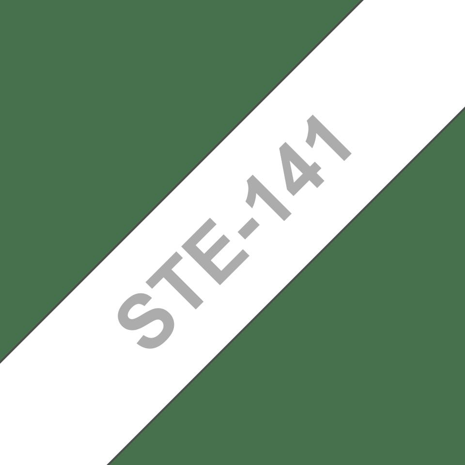 Originele Brother STe-141 stenciltape cassette – zwart, breedte 18 mm