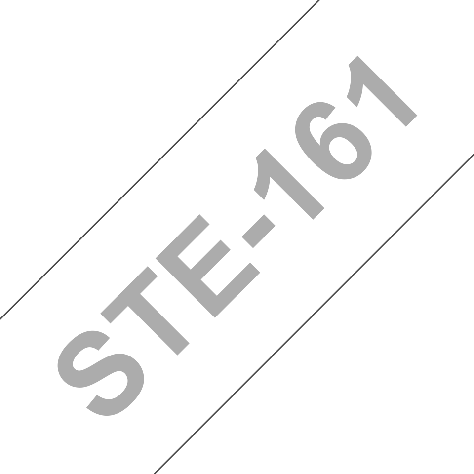 Originele Brother STe-161 stenciltape cassette – zwart, breedte 36 mm