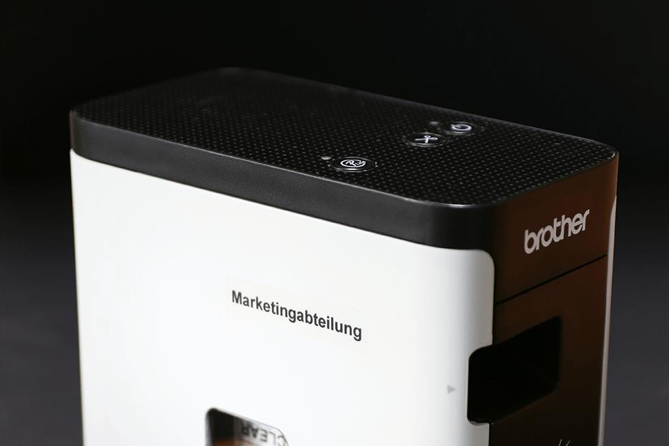 Originele Brother TZe-121 label tapecassette – zwart op transparant, breedte 9 mm 4