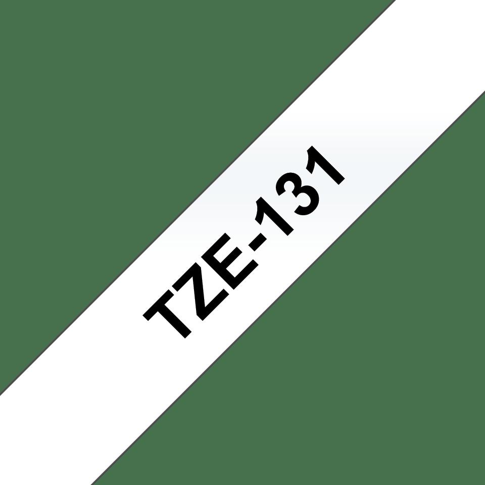 Originele Brother TZe-131 labeltape – zwart op transparant, breedte 12 mm 3