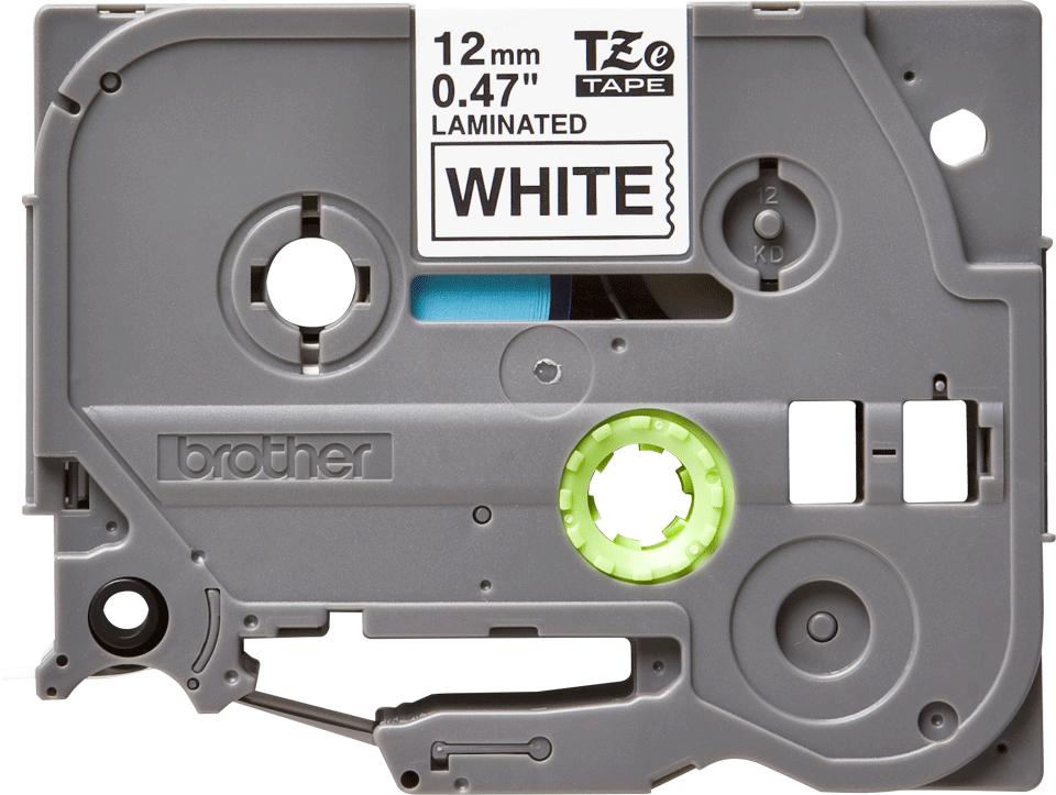 Originele Brother TZe-231 labeltape – zwart op wit, breedte 12 mm