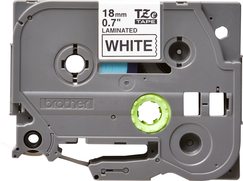 Originele Brother TZe-241 label tapecassette – zwart op wit, breedte 18 mm 2