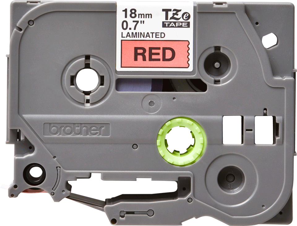 Originele Brother TZe-441 label tapecassette – zwart op rood, breedte 18 mm 2