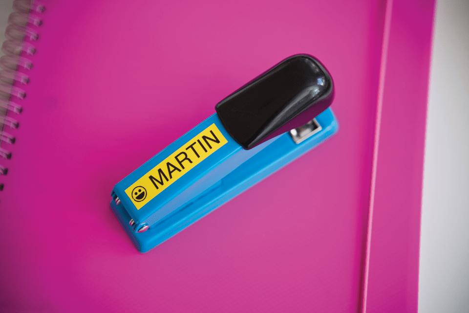 Originele Brother TZe-641 label tapecassette – zwart op geel, breedte 18 mm 4