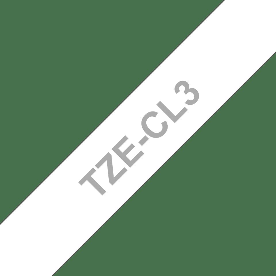 Originele Brother TZe-CL3 printkop reinigingstape cassette – breedte 12 mm. 3