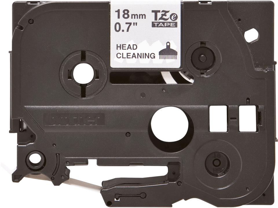 Originele Brother TZe-CL4 printkop reinigingscassette – breedte 18 mm.