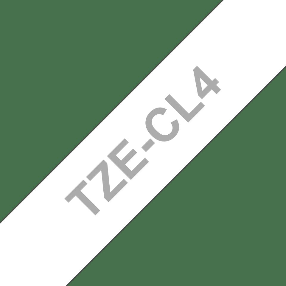 Originele Brother TZe-CL4 printkop reinigingscassette – breedte 18 mm. 3