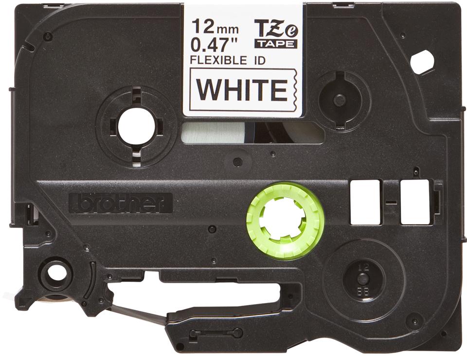 Originele Brother TZe-FX231 tapecassette – zwart op wit, breedte 12 mm 2