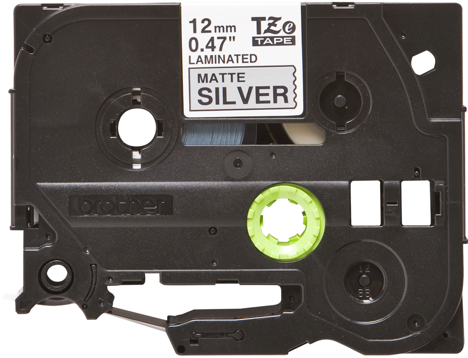Originele Brother TZe-M931 tapecassette – zwart op mat zilver, breedte 12 mm 2