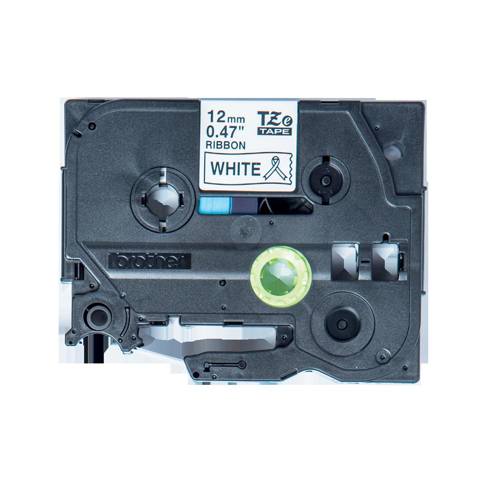 Originele Brother TZe-R231 lintcassette – zwart op wit, 12 mm breed
