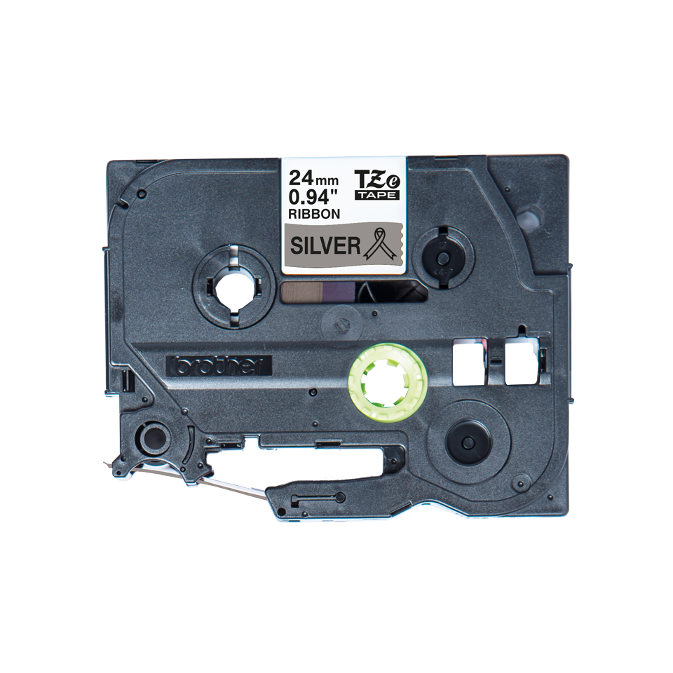 Originele Brother TZe-R951 lintcassette – zwart op zilver, 24 mm breed