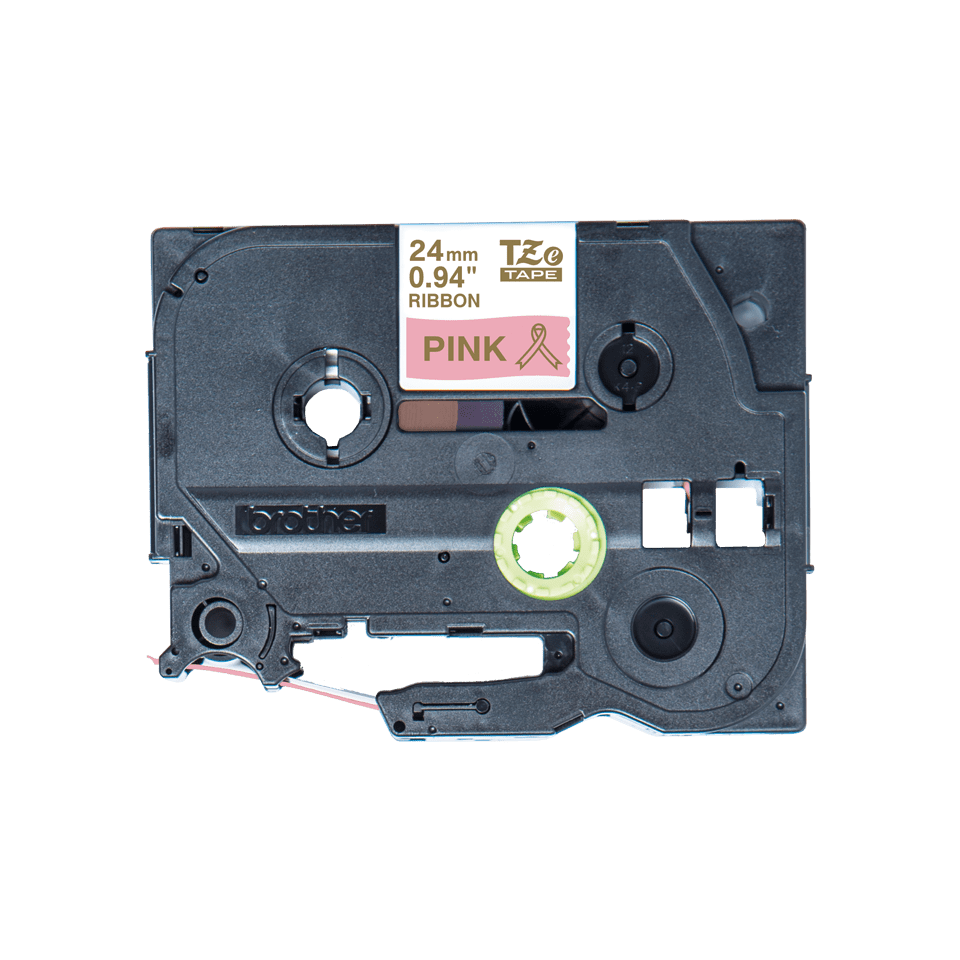 Originele Brother TZe-RE54 lintcassette – goud op roze, 24 mm breed 2