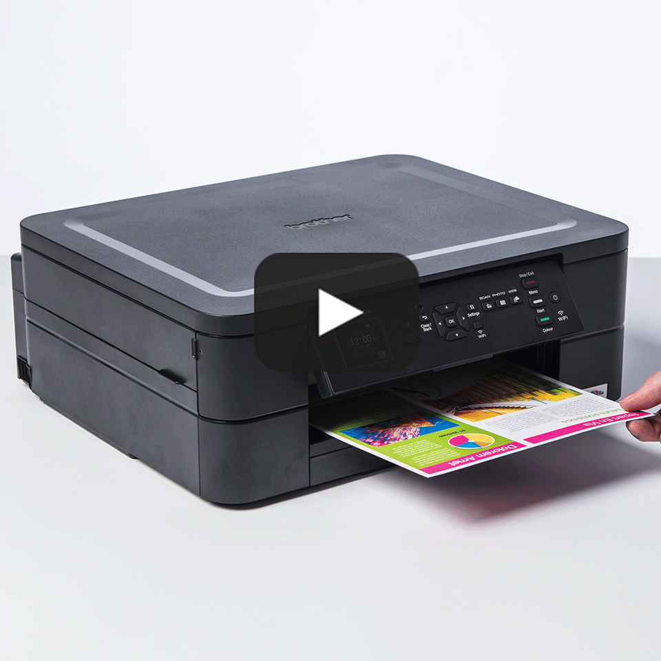 DCP-J572DW Draadloze kleureninkjetprinter 9