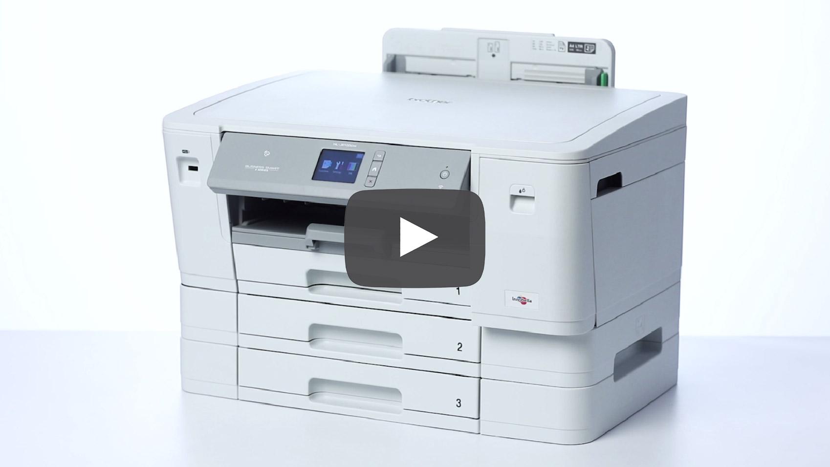 HL-J6100DW draadloze A3 kleureninkjetprinter 9