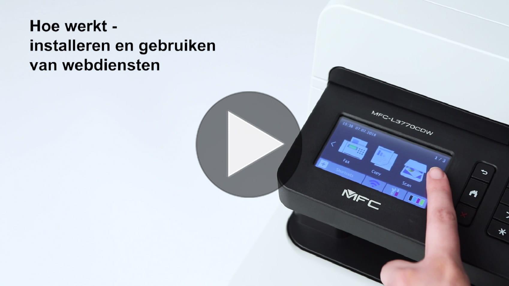 MFC-L3770CDW All-in-one draadloze kleurenledprinter 9