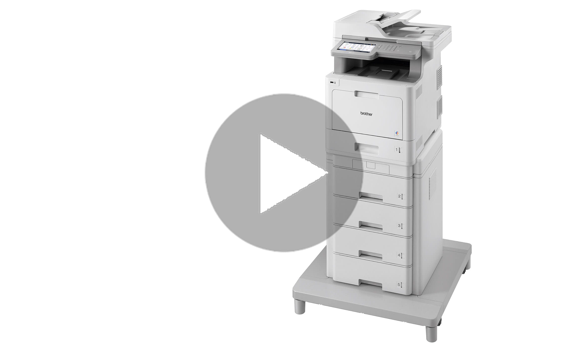 MFC-L9570CDWMT Professionele all-in-one kleurenlaserprinter met vijf papierladen en NFC 7