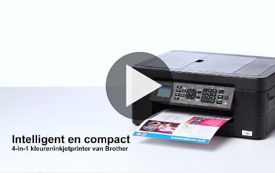 Draadloze kleureninkjetprinter MFC-J491DW 8
