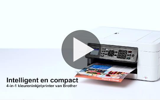 Draadloze kleureninkjetprinter MFC-J497DW 8