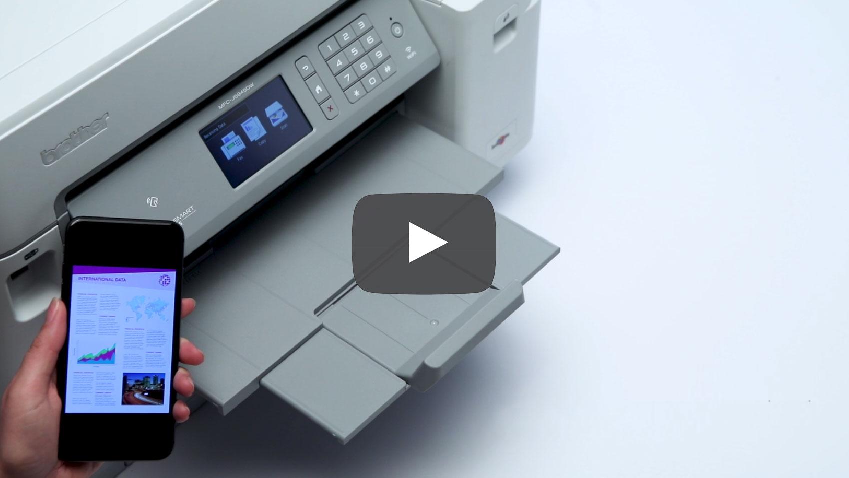 MFC-J5945DW draadloze A3 all-in-one kleureninkjetprinter 9