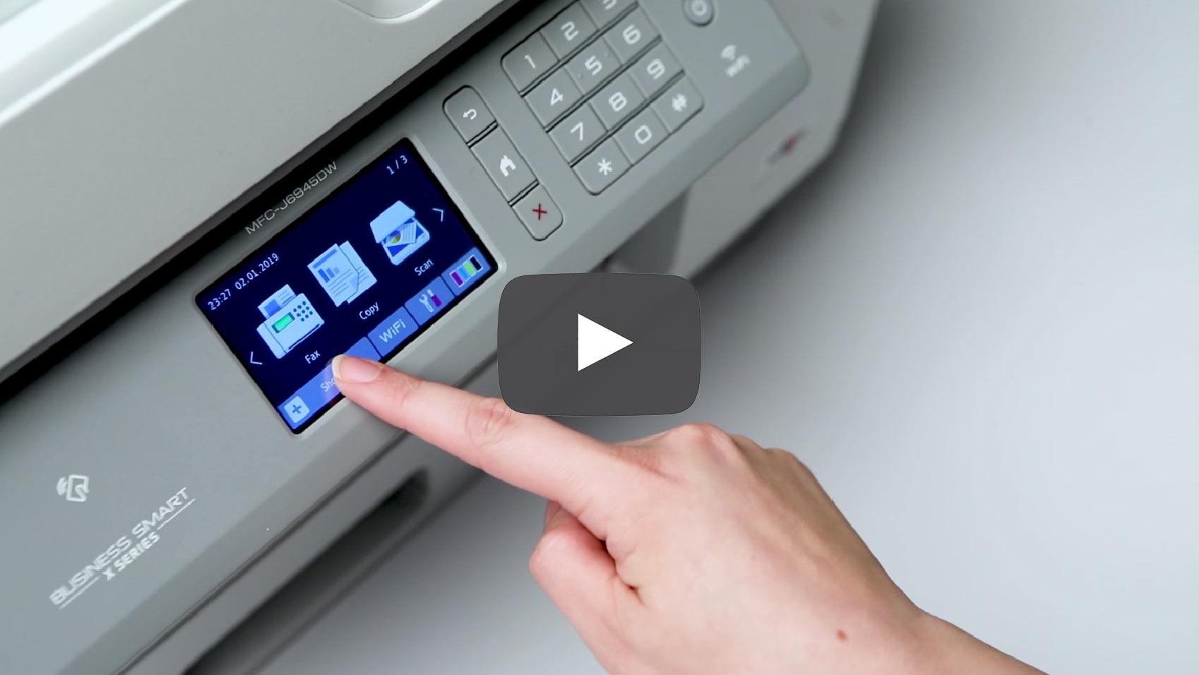 MFC-J6945DW draadloze A3 all-in-one kleureninkjetprinter 9