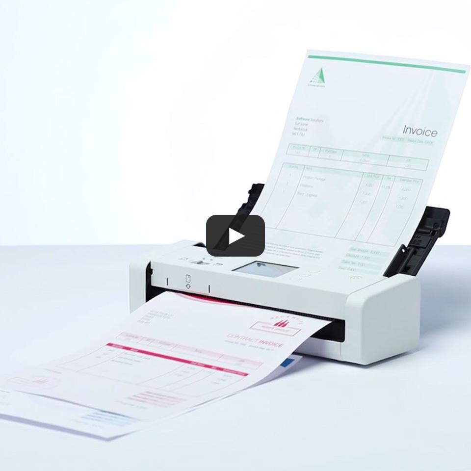 ADS-1700W Compacte, draadloze documentenscanner 10