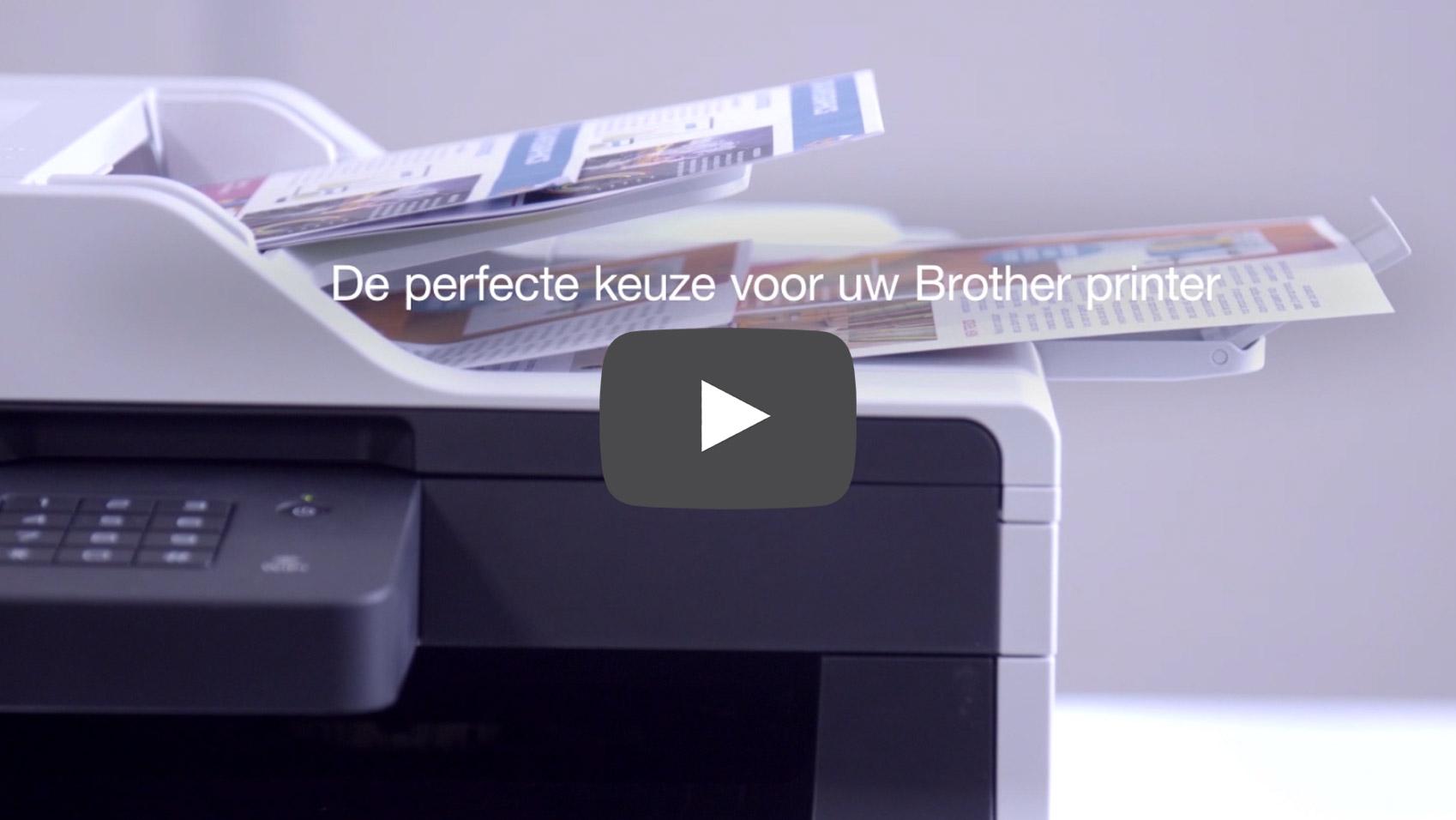 Originele Brother LC-1000RBWBP inktcartridge voordeelverpakking 3