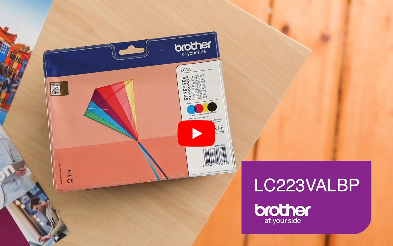 Originele Brother LC-223VALBP inktcartridge  6