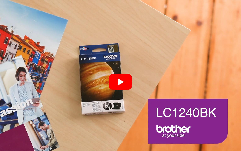 Originele Brother LC-1240BK zwarte inktcartridge  6