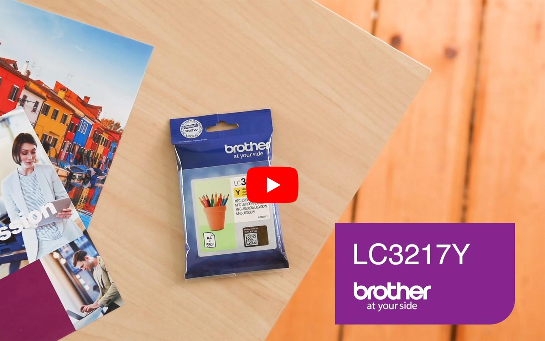 Originele Brother LC-3217Y gele inktcartridge 6