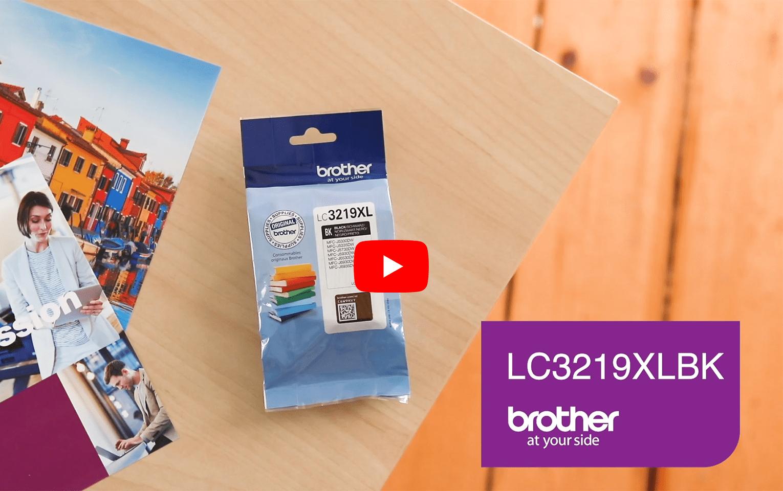 Originele Brother LC-3219XLBK zwarte inktcartridge met hoge capaciteit  6