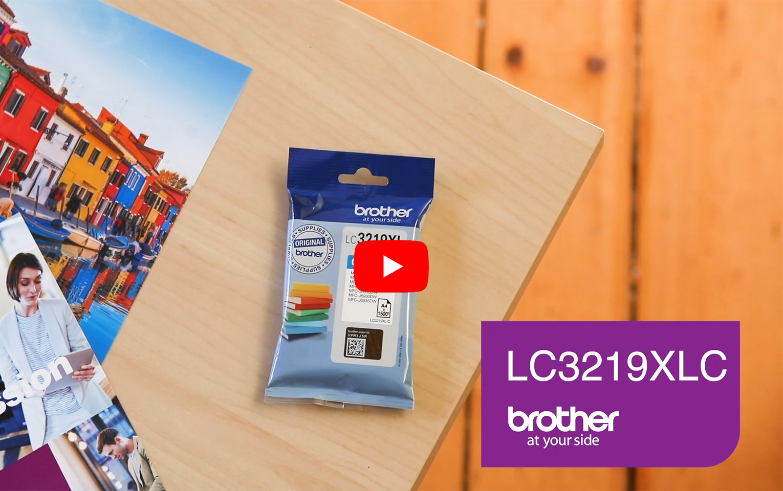 Originele Brother LC-3219XLC cyaan inktcartridge 5
