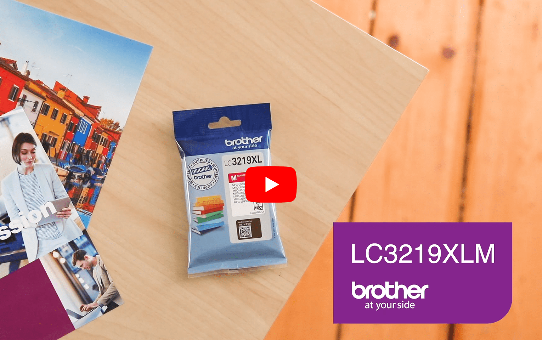 Originele Brother LC-3219XLM magenta inktcartridge 5